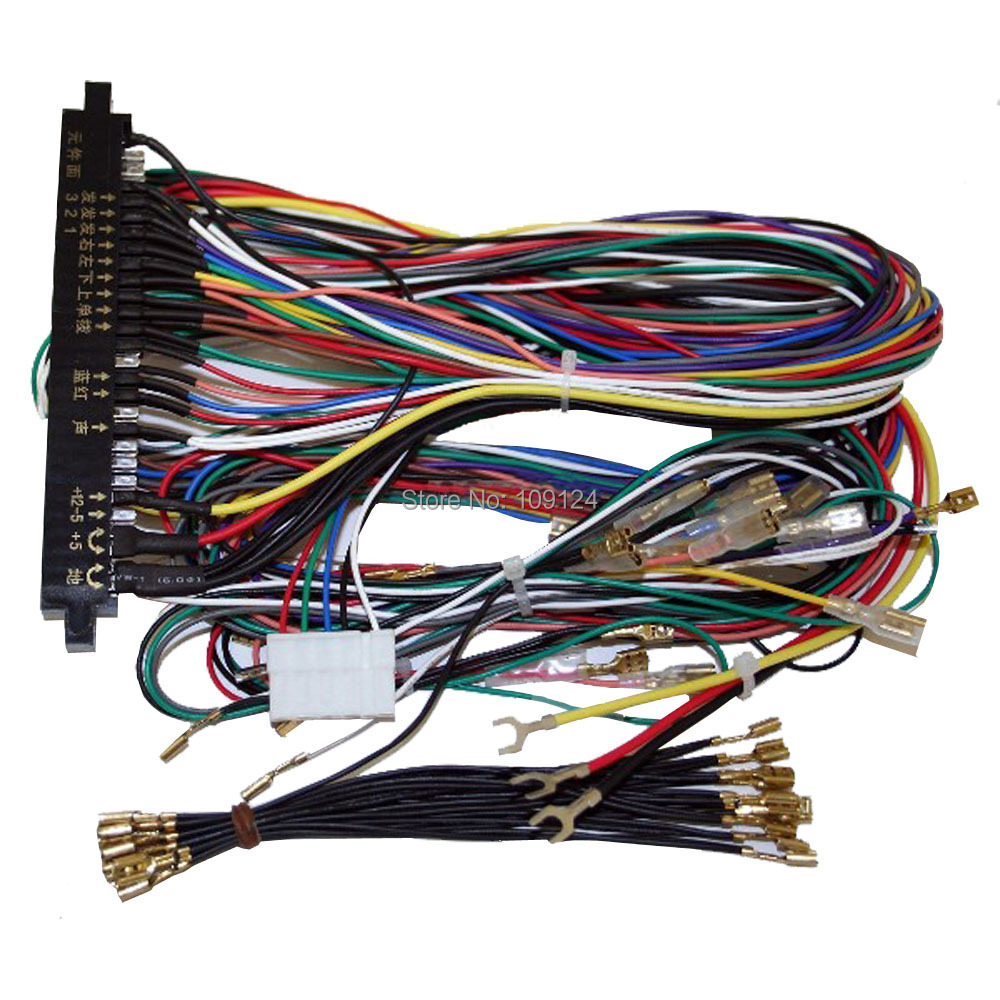 4pcs Jamma Harness Button Wires 28 Pin With 4 Buttons Wiring Machines India Qq20150703145240 Ra Wire Harnesslg 2