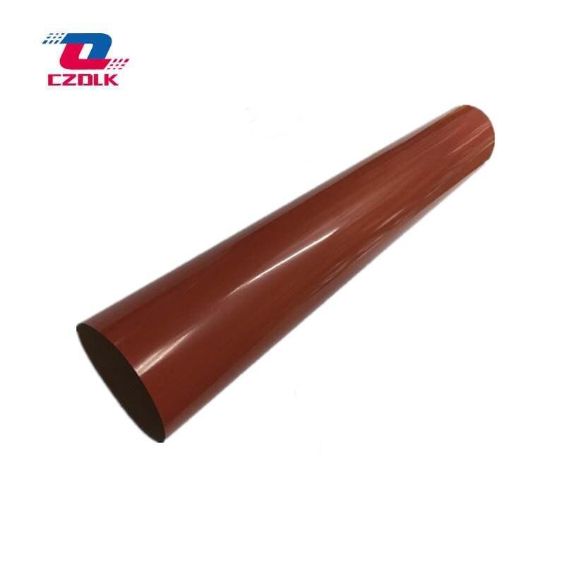 New Original Fuser Film Sleeves for Konica Minolta bizhub C220 C224 C280 C284 C360 C364 C454 C451 C452 C552 C650 C652 1pcs bhc452 bhc552 bhc652 original lower fuser roller for konica minolta bh c452 c552 c652 copier parts pressure roller