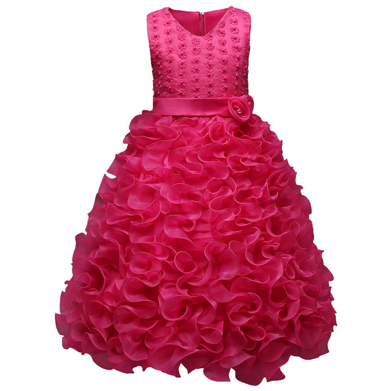 Infant Baby Girl Dress Fashion Ball Gown Flower Newborn Baby Clothing 3-10 Years Sleeveless Toddler Princess Wedding Party Dress 100% genuine hiwin linear guide hgr45 800mm block for taiwan