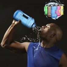 2.2L großraum sport kunststoff flasche outdoor PETG Gym tragbare wasserflasche meine flasche wasserflasche shaker mein bootl garrafa