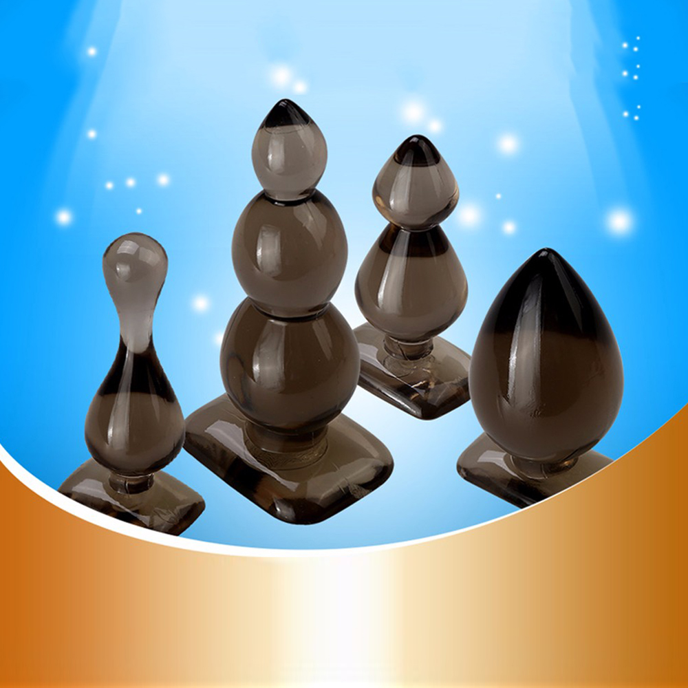 Stimulating Plug Soft Silicone Moe Baby Bead Thunder Ass Plug Anus Gags Practical Jokes Toy