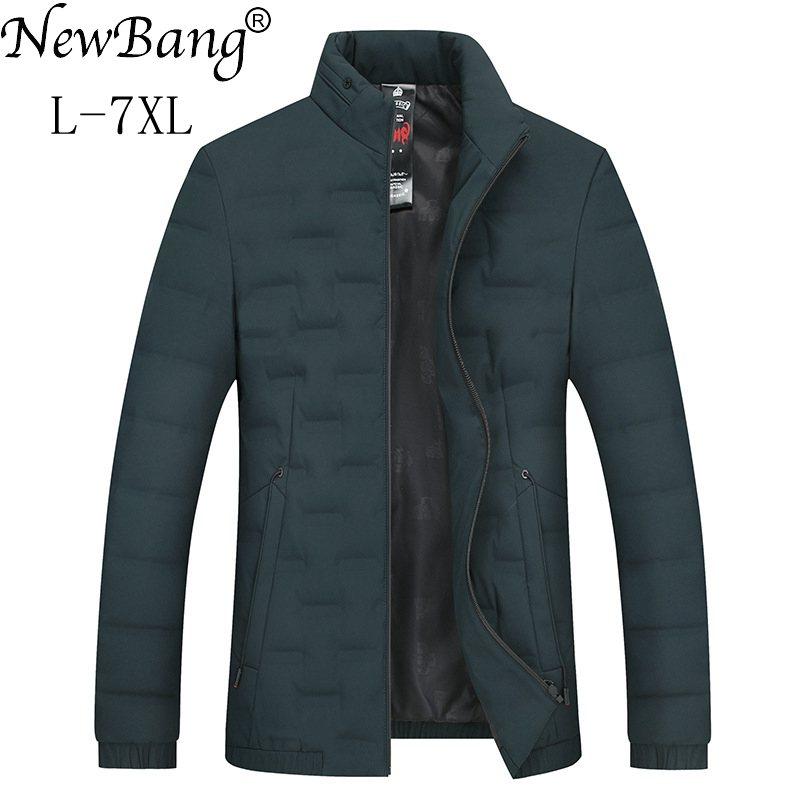 NewBang marque 5XL 6XL 7XL hommes hiver bas manteau hommes grande taille duvet de canard chaud épais chaud plume Parka pour hommes Outwear