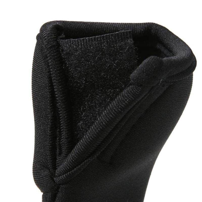 2x Black Baby Stroller Pram Handle Cover Bar Grip Protective Sleeve Practical