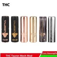 Original THC Tauren Mech Mod with Innovative 360 Full Contact Button & Unique Luxury Painting Finish VS vgod mech pro elite Mod