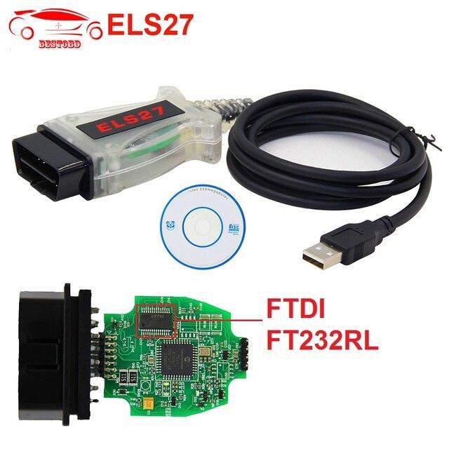 US $14 28 9% OFF|Forscan OBD2 Scanner ELS27 with FTDI FT232RL Chip Car  Diagnostic Tool for FORD/MAZDA/LINCOLN/MERCURY PK ELM327 V1 5 Code  Reader-in