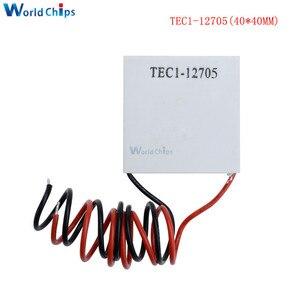 Image 5 - 10pcs TEC1 12705 Thermoelectric Cooler Peltier TEC1 12706 TEC1 12710 TEC1 12715 SP1848 27145 TEC1 12709 TEC1 12703 TEC1 12704