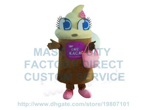 icecream mascot costume ice cream fancy dress custom cartoon character cosply adult size carnival costume 3458