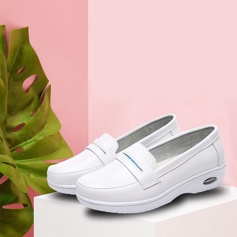 9acf3951a Bodensee-mujer-cuatro-estaciones-blanco-enfermera-zapatos-plataforma-suave-c-modo-colch-n-de-aire-cuero.jpg