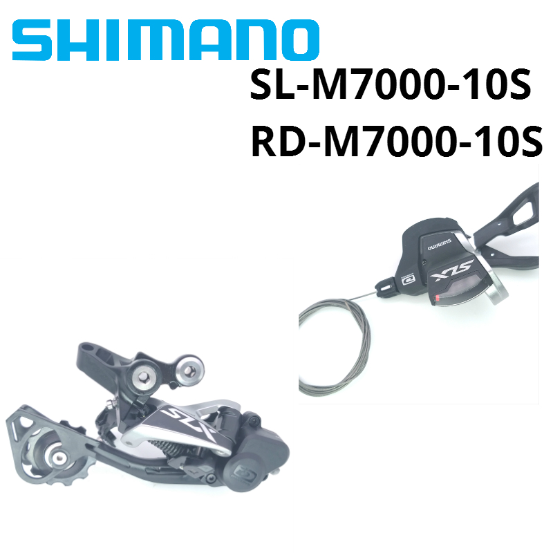 SHIMANO SLX M7000 10 Speed Groupset SL M7000 SHIFT LEVER RD M7000 sgs REAR DERAILLEUR MTB