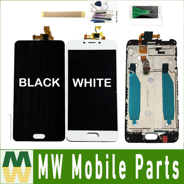 With/Without Frame ORIGINAL For <font><b>Meizu</b></font> Meilan <font><b>M5C</b></font> 5C A5 M710H LCD Display Touch Screen Sensor Digitizer Assembly Black White+ Kit image