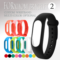 centechia 1 pcs Smart Wristband Band Strap For Xiaomi Mi 2 Smart Bracelet Miband 2 Replacement Silicone Wrist Strap