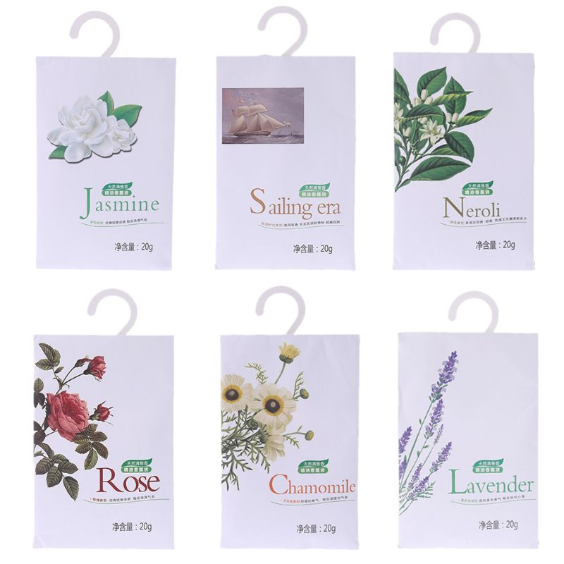 Us 0 58 27 Off 1 Bag Sachets Scented Hanging Fragrance Bags Wardrobe Clothes Drawer Car Air Freshener Home In