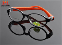 2015 NEW Kids TR90 Eye Glasses Frame Boys Girls Multicolored Cute Optical Glasses Childrens Clear Lens