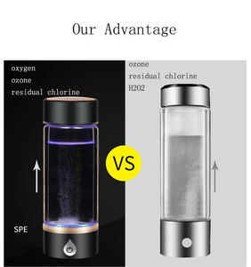 Image 4 - SPE/PEM Hydrogen Water Generator Water Ionizer Bottle Water Purifier Water Filter Separate H2 and O2 High Pure Hydrogen Bottle