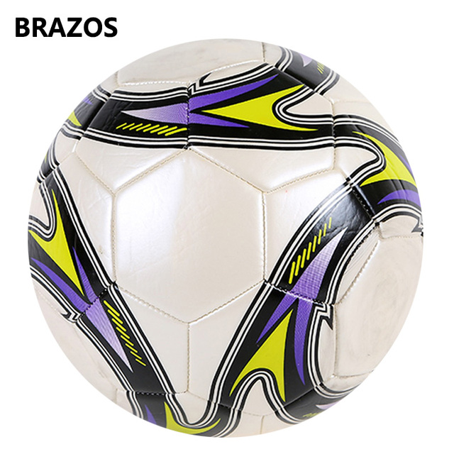 Size 5 Leather Soccer Ball Official Training Football Ball Competition Balls Outdoor Adult Student Foot Game