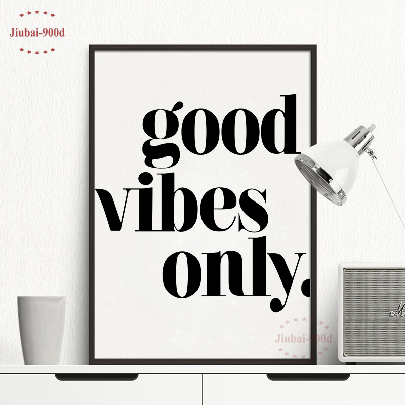 Inspiration Quote Canvas Painting Decor The Wall Nordic Poster Wall For Home Decoration Posters