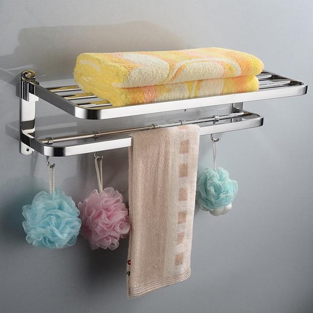 Huici doppio mobile bagno porta asciugamani bagno portasciugamani mensole bagno rack in - Mobile porta asciugamani ...