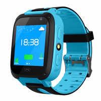 Smart Watch For Children Kids Watch Phone Sim Card Dail Call Touch Screen Waterproof Smart Clock LED Flashlight Smartwatches