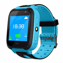 Smart Watch waterproof with GPS GSM Locator Touch Screen Tracker SOS LED Flashlight Smart sport wristband for Kids birthday gift xiaocai x6 waterproof gsm bar phone w 1 77 screen flashlight mobile charger black olive