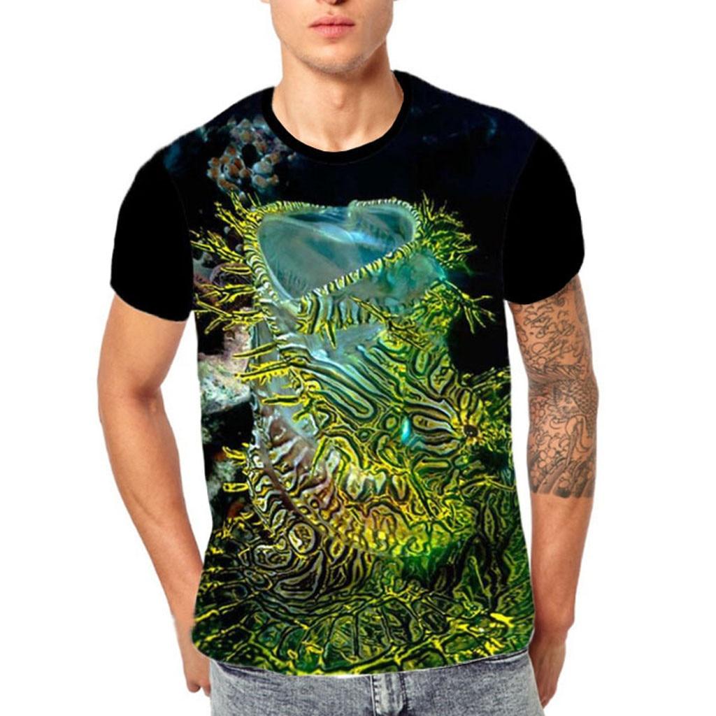 925dbb6c Brand New Summer Designer 3D Printed T Shirt Men'S Short Sleeve Tshirt  Creative forest Men'S T