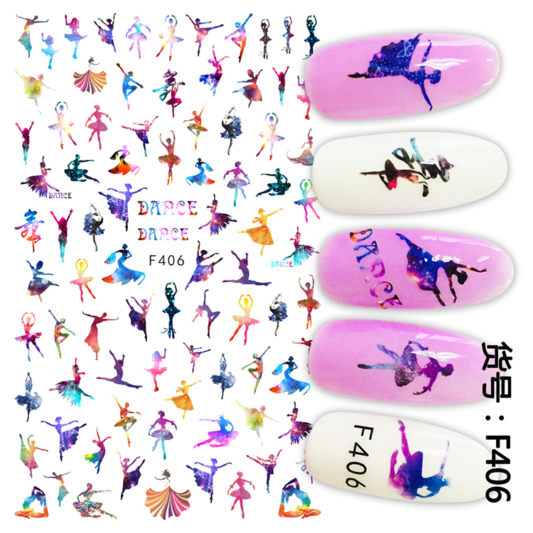 Festival Fireworks Series Nail Stamping Plate Christmas Valentine Celebration Dancer Style Rectangle Nail Image Template C08 The Latest Fashion Nail Art