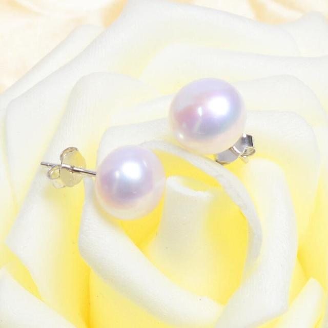 925 Sterling SilverPearl Earrings