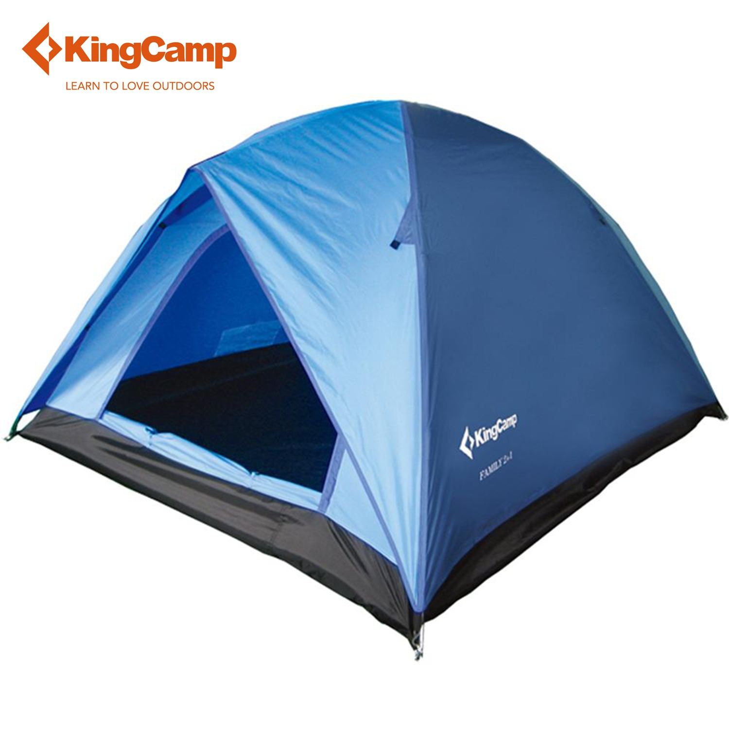 KingCamp 2 Person Ultralight Camping Tent Double-layers 3 Season Breathable Waterproof Camping Hiking Tent UV Protection цена