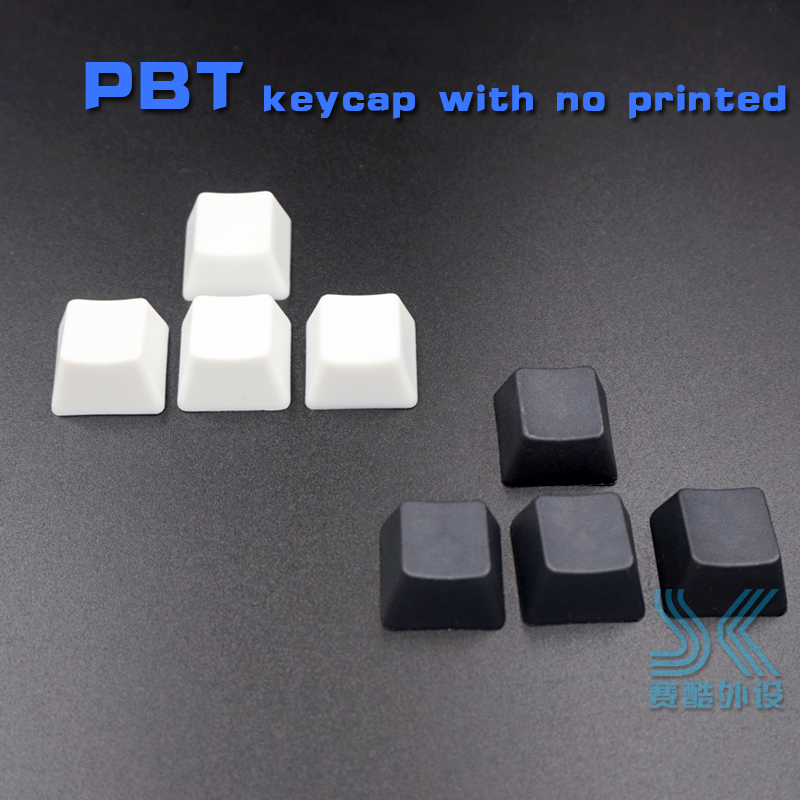 PBT Mechanical Keyboard Keycap R1 R2 R3 R4 OEM Height WASD Direction Key Up Down Left Right No Printed  Black White 4pcs/lot