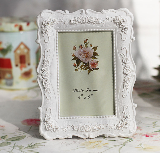 Aliexpress.com: Comprar Foto creativa Marcos rosas flores cristal ...