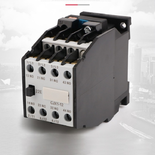 AC contactor CJX1-12/22 380V 220V silver point