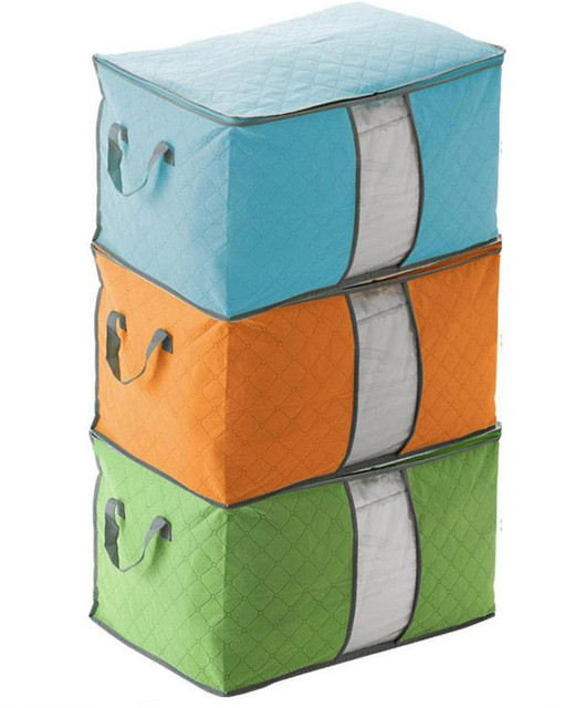 Storage Organizer Bag Clothes Quilt Foldable Storage Wardrobe Multi-purpose Pouch Bag Organize 1