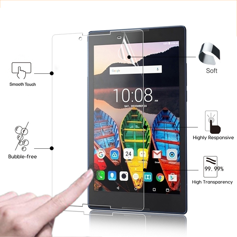 """3 Pack Clear Tablet Screen Protector Guard For 8/"""" Vodafone Tab Speed 6"""