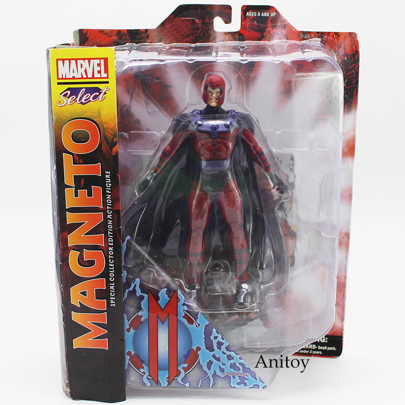 Marvel Select Magneto Special Collector Edition Action Figure Toy 7inch 18cm zenfone 2 deluxe special edition