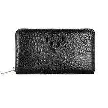 gete 2017 new hot free shipping crocodile wallets long men business bag zipper bag male big capacity high-end women clutches
