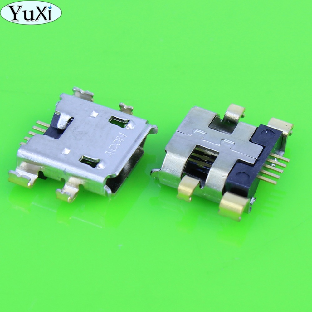 YuXi 5pcs/lot For Google Nexus 7 2ND 2013 Tablet Micro USB Charger Charging Port Connector For Asus ME370 ME571K K008