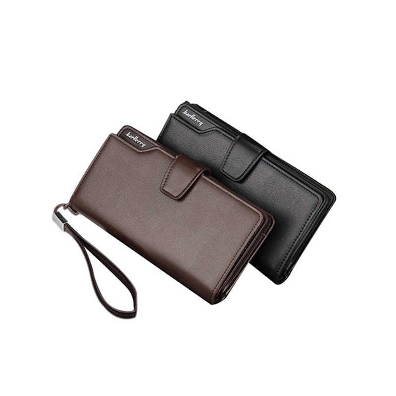 Baellerry качество женские кошельки для мужчин длинный кошелек клатч Сумки Ziper Hasp слот для кредитных карт кошельки в бизнес-стиле портмоне для мужчин женские кошельки