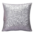 Luxury Glitter Sequins Throw Pillow Case Cotton Blend Home Office Square pillowcase Seat Cat Decorative Pillow Cover &ST87WZ85