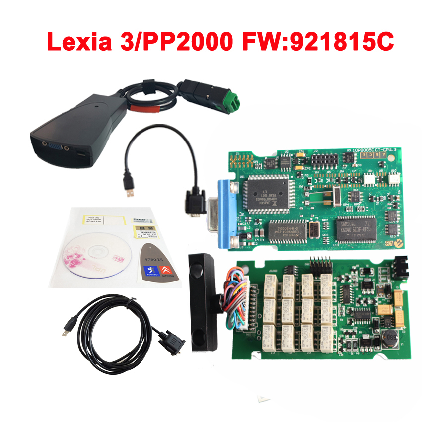 Prix pour Nouveau Lexia 3 (Firmware 921815C) 2015 Top vente lexia3 Diagnostic pp2000 lexia 3, lexia-3 diagbox 7.83 V7.76 logiciel Libre shi