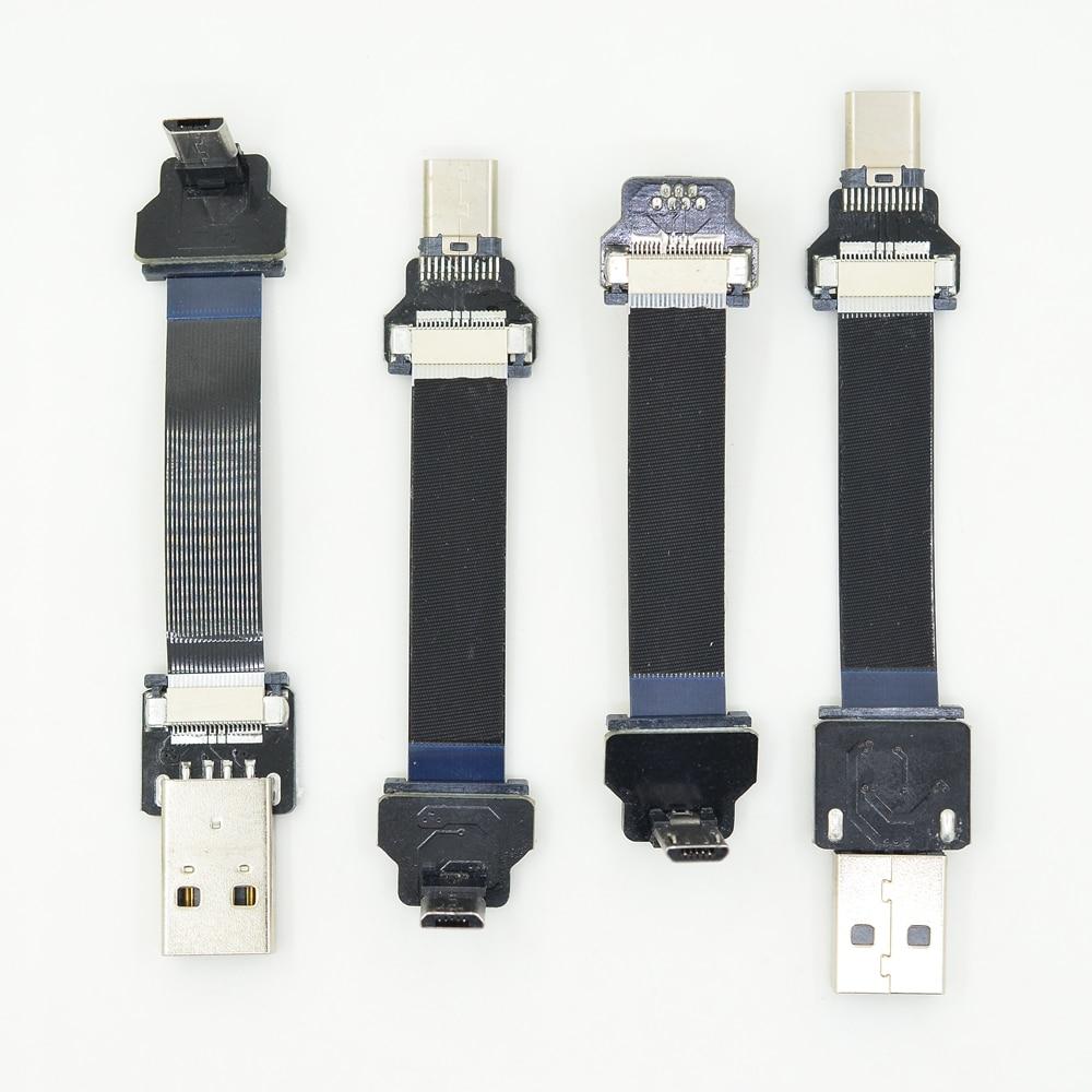 Ffc Usb 3 1 Type C Cable Fpv Flat Slim Thin Ribbon Fpc