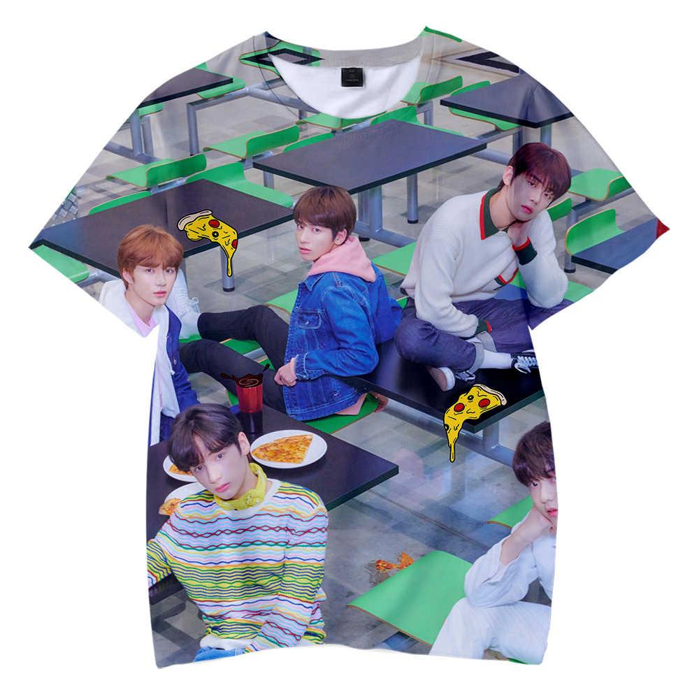 MORGEN X SAMEN Lid Kids T-shirt Hot korte mouwen Casual Dieptepunt Paar Liefde ouder-kind Fshion kinderen dragen