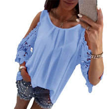 Sexy Off Shoulder font b Blouse b font Women Summer Shirts For font b Female b