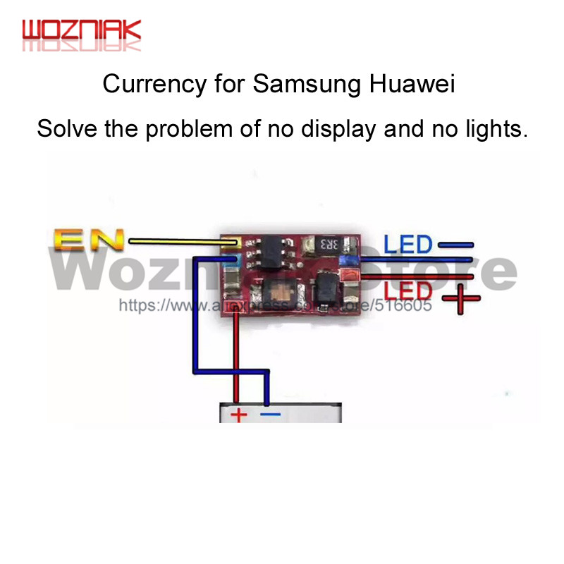 Wozniak Currency For Samsung Huawei Solve The Problem Of No Display And No Lights CHIP IC Lighting Connector