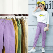 New Arrival Children Pencil Pants Spring Autumn Clothing for Kids Girls Solid Long Trousers Teenage Cotton Candy Color Leggings стоимость