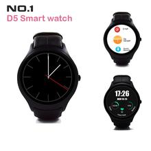No. 1 d5 smart watch ips dual-core sync bluetooth wifi gps schrittzähler Heart Monitor 512 MB RAM 4 GB Smartwatch Für Android iOS 2016