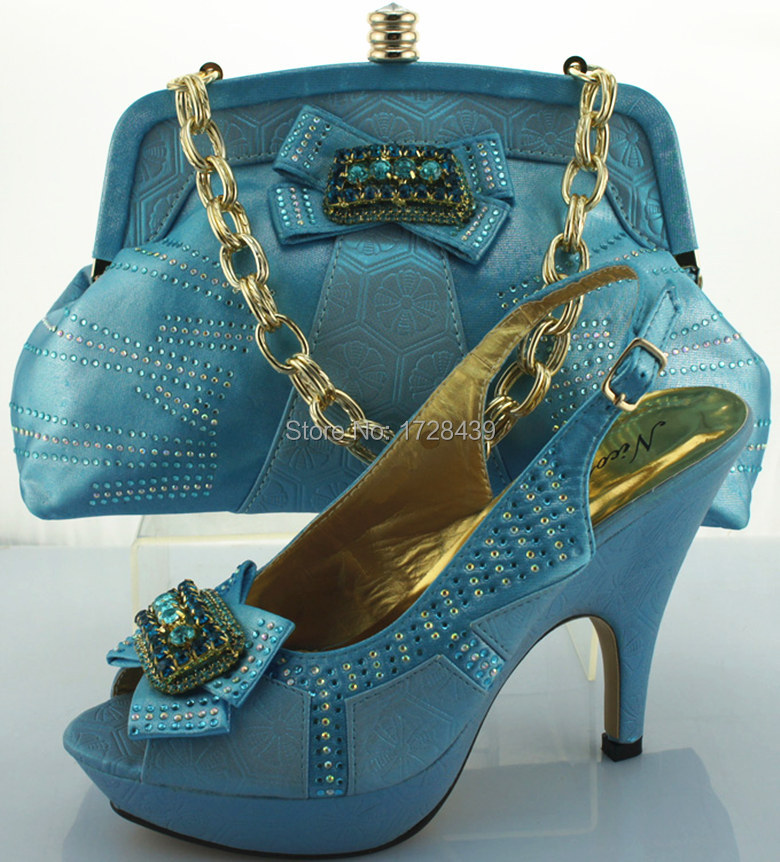 popular design italian shoes with matching bags good ...