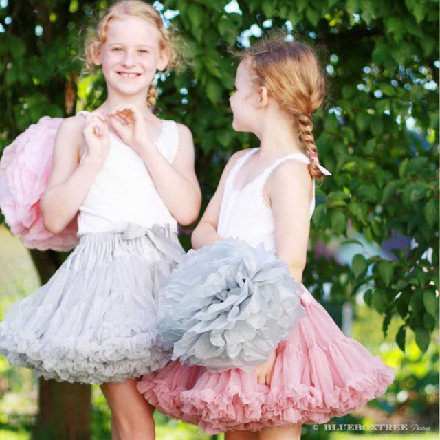 skirts 2016 new arrival little baby girls candy color mini fluffy tulle party performance tutu pettiskirts 15