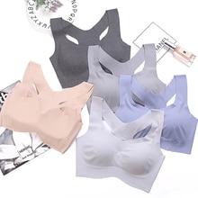 Japanese Wire Free Women Bra Striped Comfortable Sportswear Bra Top Seamless Underwear Breathable Sleeping Lingerie Bras