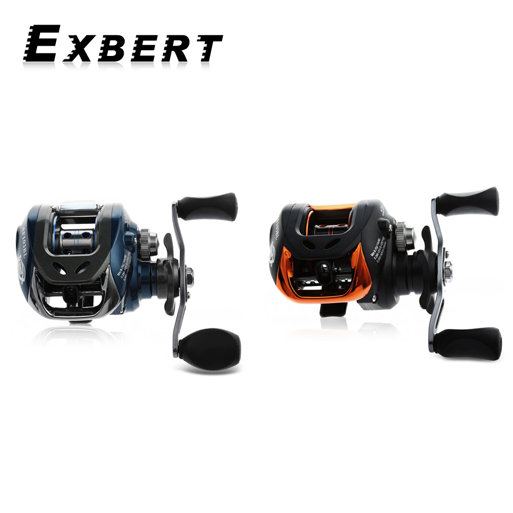 AF103 10+1 BB Fishing Reel 6.3:1 Left/Right Hand High Speed Baitcasting Reel With Magnetic Brake Carp Carretilha Pesca