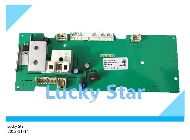 цена на 95% new good High-quality for SIEMENS washing machine Computer board WM175(XQG52-175) board