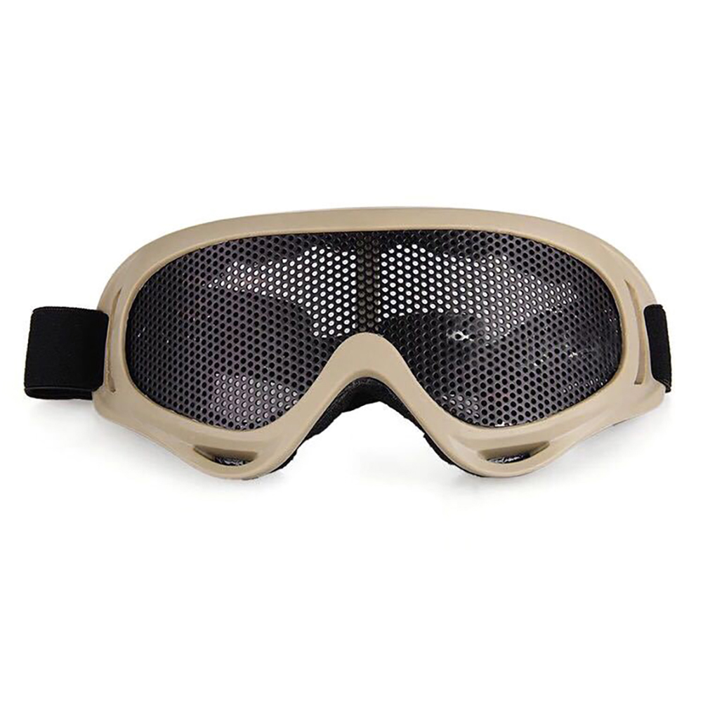 New Outdoor Protective Goggles Tactical Airsoft Adjustable Goggles Safety Mesh Climbing Circumference Bulletproof CS Glasses